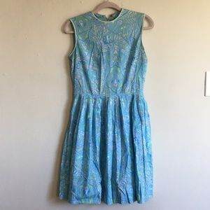 Pastel paisley! Vintage late 50s/early 60s